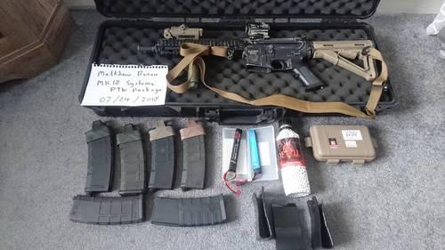 Mk18 systema ptw package - Electric Rifles - Airsoft Forums UK