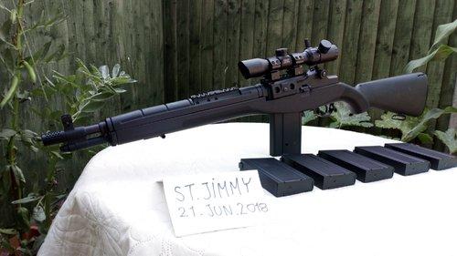 Cyma m14 socom + accessories UPGRADED  - Electric Rifles - Airsoft
