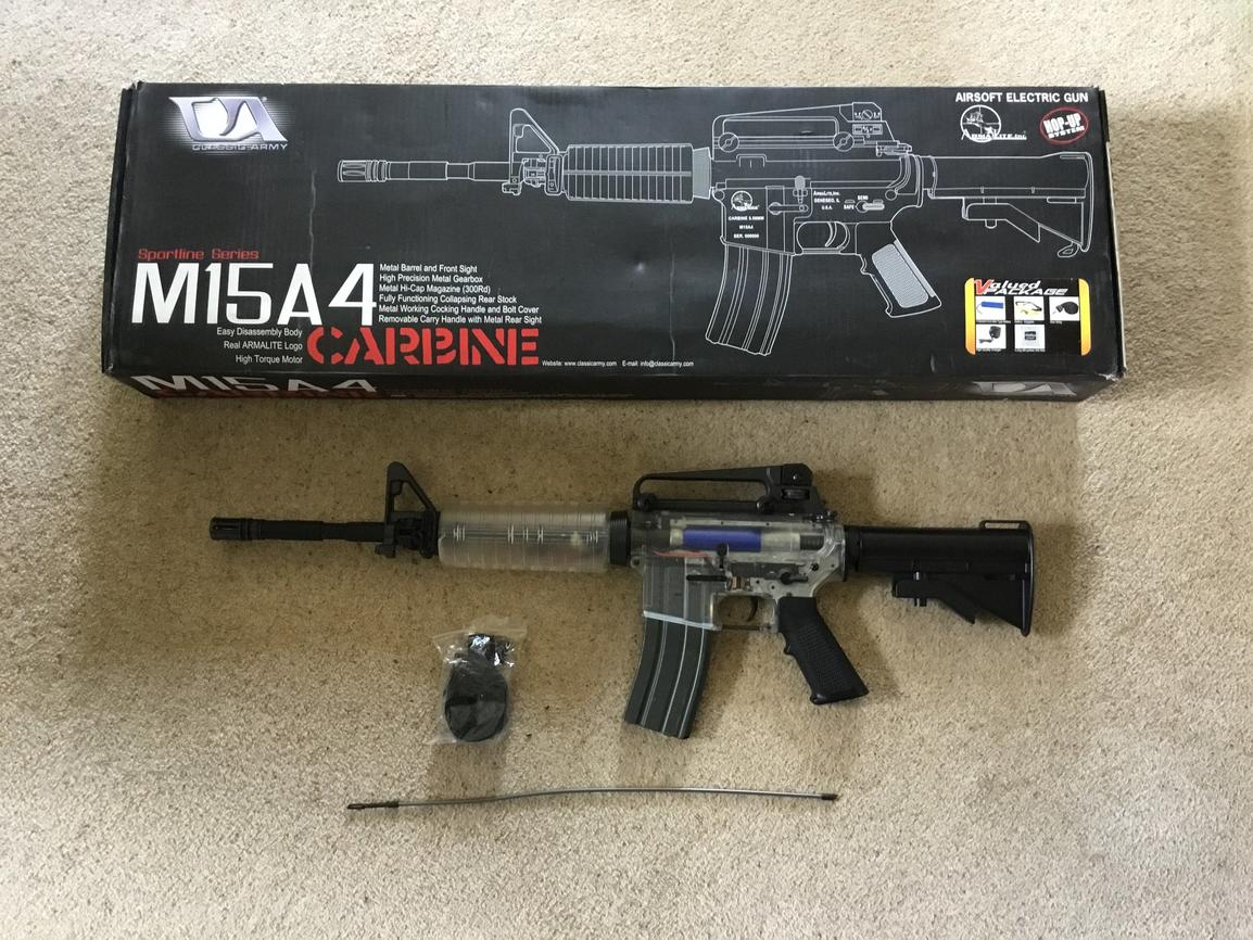 Classic army m4 stock