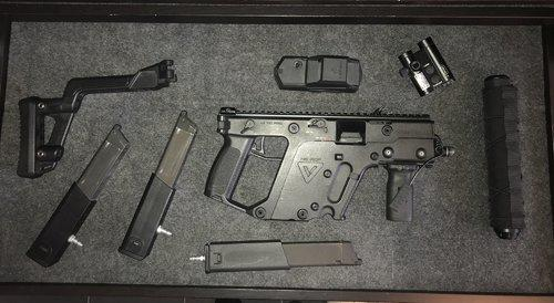 KWA KRISS VECTOR hpa ready - Gas Rifles - Airsoft Forums UK