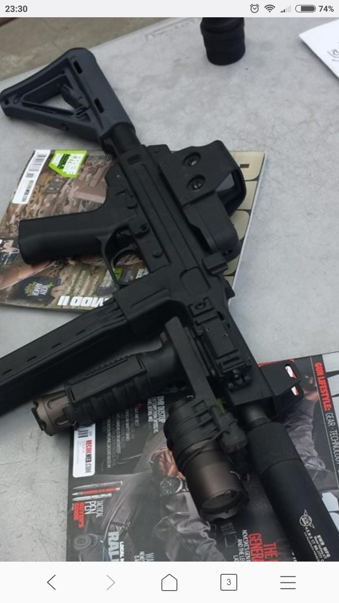 Ak b12/b20 side rail mount, anywhere in uk sell em? - Guns