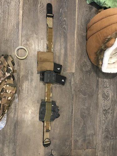 Emerson Multicam Cobra Molle Riggers Belt - Gear - Airsoft
