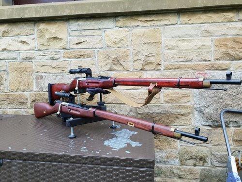 PPS MOSIN NAGANT PU SNIPER UPGRADED - Gas Rifles - Airsoft