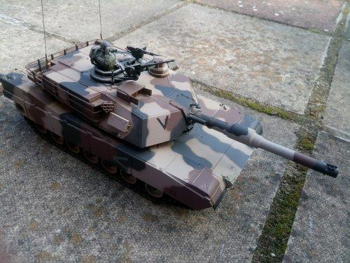 Tokyo Marui M1A2 Abrams Remote Controlled BB Firing Tank - Other