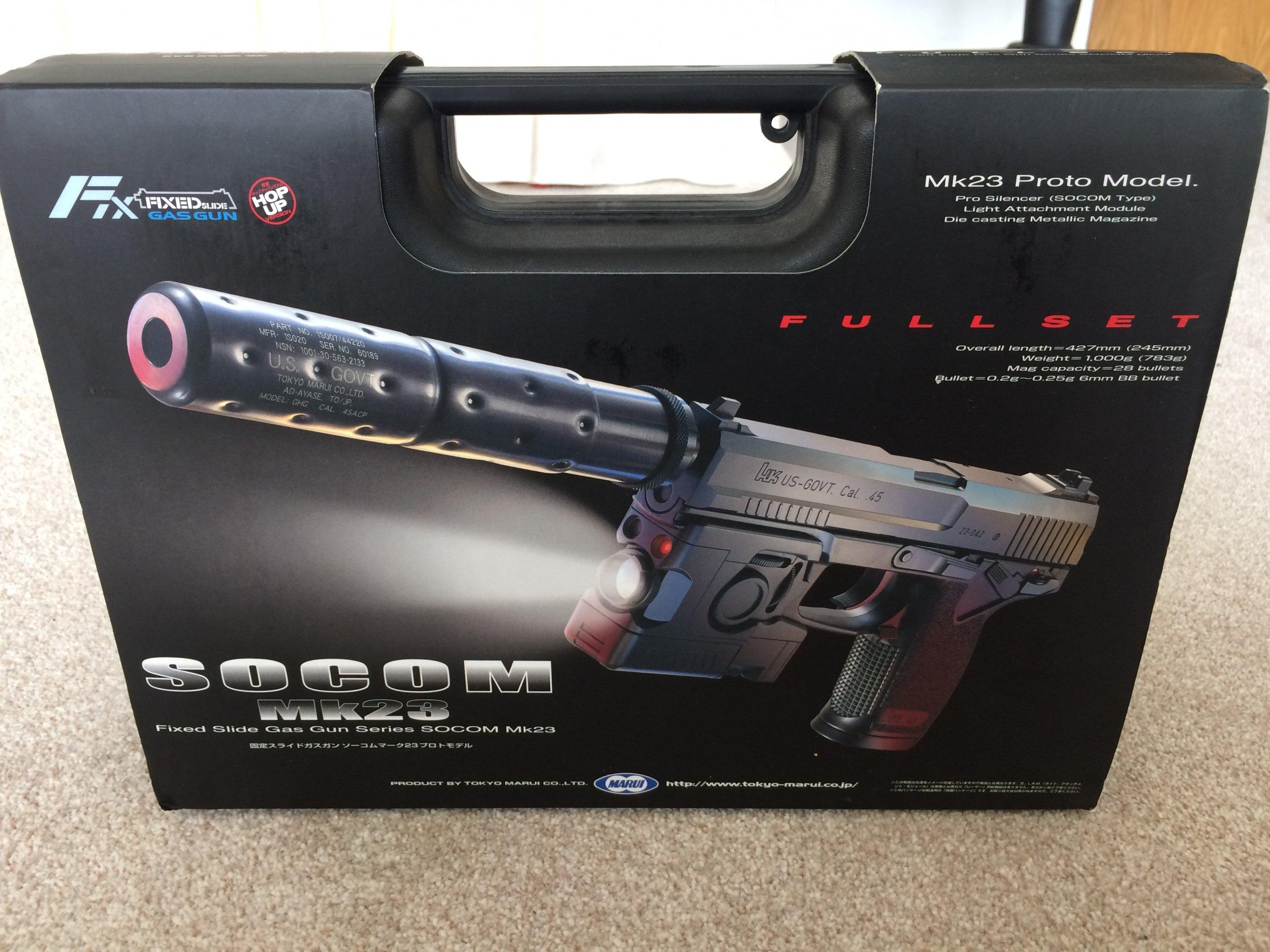 Tokyo Marui MK23 Socom - Gas Pistols - Airsoft Forums UK